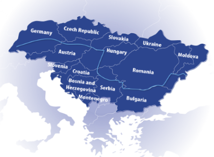 Danube Region area
